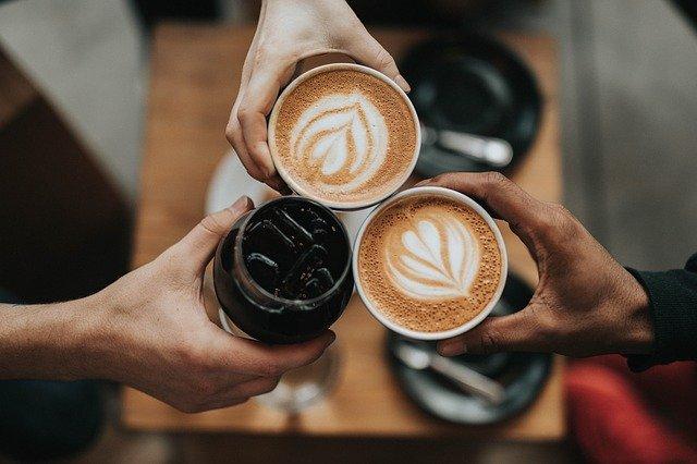 家族でコーヒー